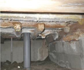 住宅 床下の換気状態