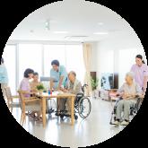 老人介護施設におすすめ 業務用循環型空気清浄機 UVCエアステリライザー クラシオ株式会社