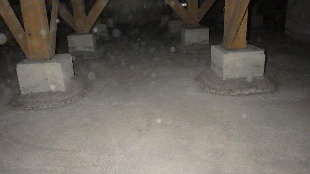 クラシオ 施工実績 床下消毒・清掃・予防工事(アフター写真)
