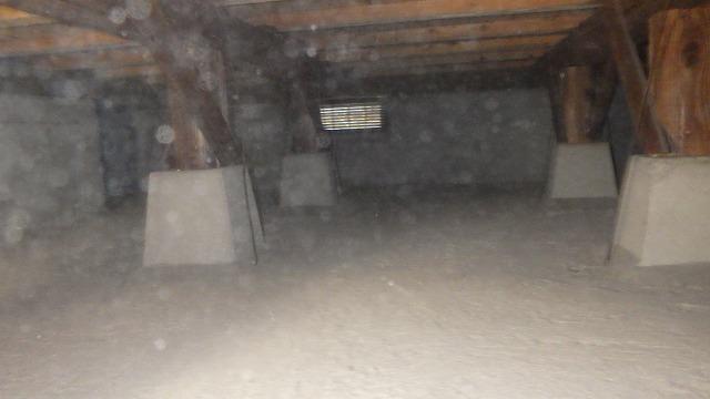 クラシオ 施工実績 水漏れによる水汲み上げ処理、清掃、消毒、予防工事(アフター写真)