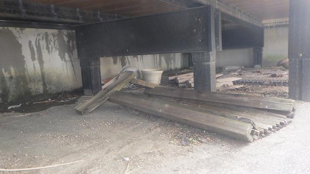 クラシオ 施工実績 シロアリ予防工事・床下清掃(ビフォー写真)