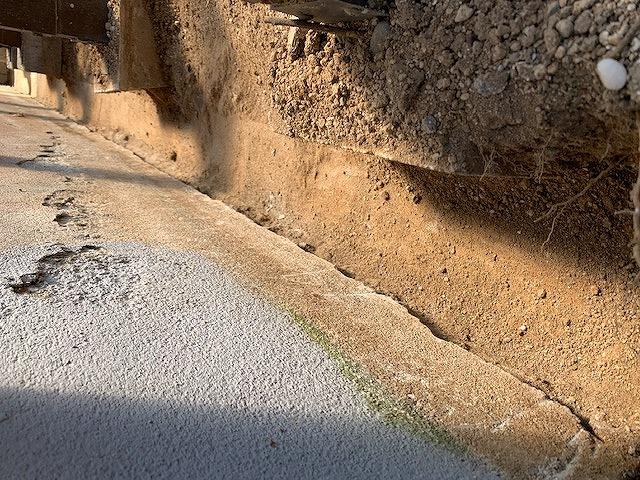 クラシオ 施工実績 予防工事・消毒・基礎補修工事(ビフォー写真)