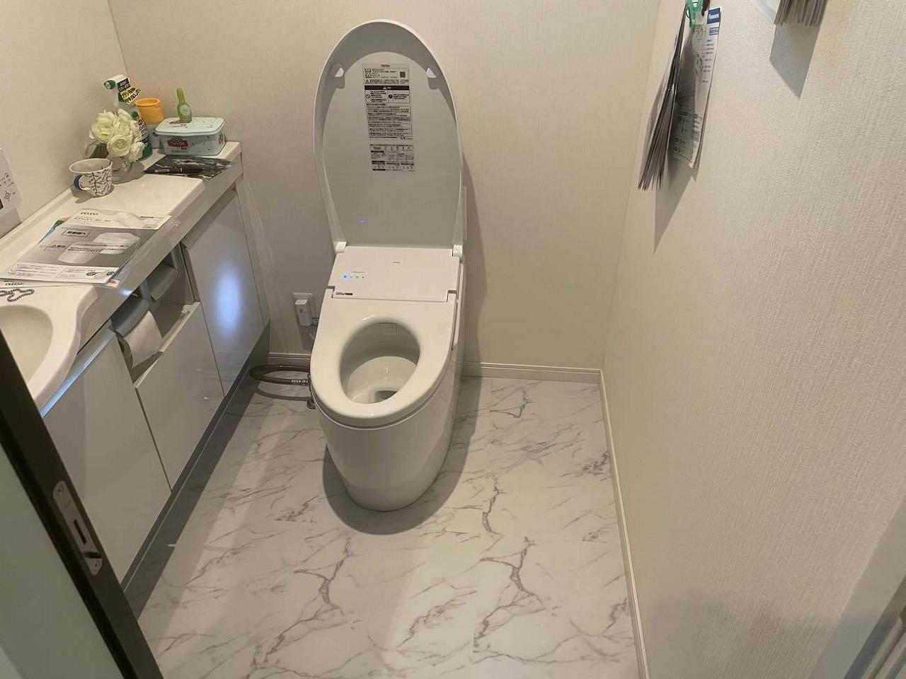 クラシオ 施工実績 熊本市中央区H様/トイレ交換工事(アフター写真)